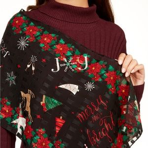 Charter Club Merry And Bright Holiday Scarf Wrap